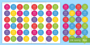 Smartie Label Gift Card Template - ROI Back to School Resources, home-school communications, back to school, gift, present, teacher, te