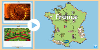France Themed I See, I Think, I Wonder PowerPoint - CfE Literacy, talking, listening, Paris, discussions, class discussion, group discussion,Scottish