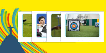The Olympics Archery Display Photos - Olympics, Olympic Games, sports, Olympic, London, 2012, display, poster, photos, images, , Olympic torch, flag, countries, medal, Olympic Rings, mascots, flame, compete, archery, archer, bowman, bow, arrow, targe