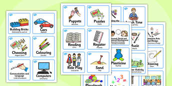 Visual Timetable Nursery FS1 Romanian Translation - romanian