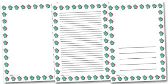 Exercise Books Portrait Page Borders- Portrait Page Borders - Page border, border, writing template, writing aid, writing frame, a4 border, template, templates, landscape