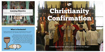 Christian Confirmation Teaching and Task Setting PowerPoint