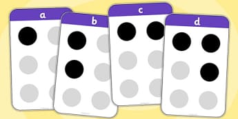 Braille Flash Cards - braille flash cards, braille, alphabet, dots, blind, cards, card, flashcard, Louis Braille, visually impaired
