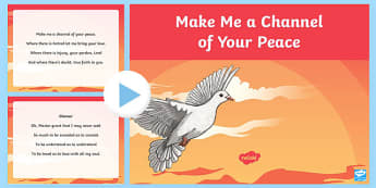 Make Me a Channel of Your Peace Song PowerPoint-Irish