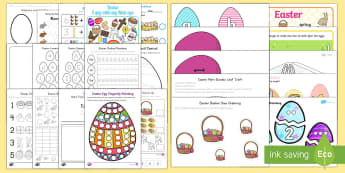 Easter Early Childhood Printable Resource Pack - Easter, easter craft, easter display