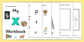My Workbook x Lowercase - workbook, x workbook, letter x, my workbook, my x workbook, lowercase x, x, lowercase x workbook