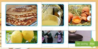 Pancake Day Display Photos - EYFS, Pancake Day, Shrove Tuesday, pancakes, display