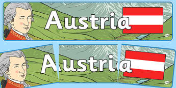 Austria Display Banner - Austira, Olympics, Olympic Games, sports, Olympic, London, 2012, display, banner, sign, poster, activity, Olympic torch, flag, countries, medal, Olympic Rings, mascots, flame, compete, events, tennis, athlete, swimming