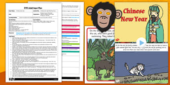 Chinese New Year Role Play Story EYFS Adult Input Plan and Resource Pack - eyfs planning, early years activities, festivals, cultural celebrations