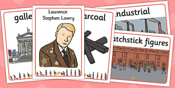 LS Lowry Display Posters - display, posters, l s lowry, lowry