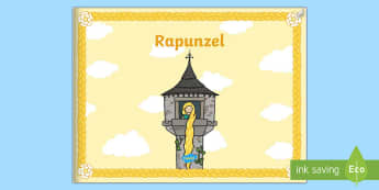 Rapunzel eBook - German, Fairy Tales, Rapunzel, Märchen, deutsch, language, ebook