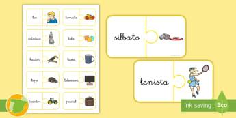 Puzle: La letra T  - juego lectoescritura, juego lecto, juego didáctico, lecto, sonidos, lecto-escritura, fonemas, sonid