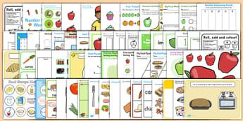 Food Activity Pack - activities, classroom activities, games