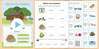 Foundation Position Activity Pack - Australian Curriculum Geometry and Measurement