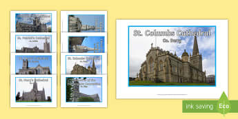 Cathedrals of Ireland Display Photos - tourism, history, geography, ireland, cathedrals, local studies, my area
