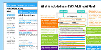 EYFS Bumper Planning and Resource Pack to Support Teaching on Mr Wolf's Pancakes Overview  - EYFS, Early Years Planning, adult led, Pancake Day, Shrove Tuesday