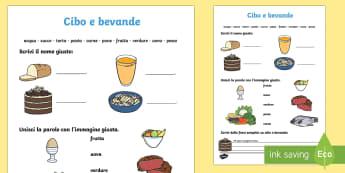 Cibo e Bevande Attività - cibo, e , bevande, attivita, salute, salutare, cibo, alimenti, italiano, italian