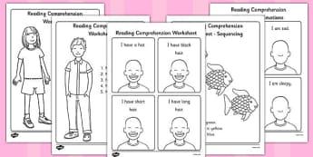 Reading Comprehension Worksheets - reading comprehension, comprehension worksheets, reading comprehension activities, understanding assessment, sen