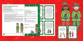 The Kind Christmas Elves Resource Pack - Elf on the Shelf, Kindness Elves, The Kind Christmas Elves, elf, elves, love, kindness, sharing