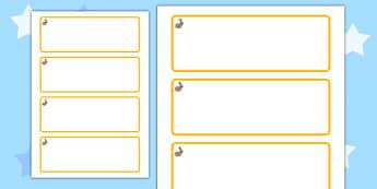 Rabbit Themed Editable Drawer-Peg-Name Labels (Blank) - Themed Classroom Label Templates, Resource Labels, Name Labels, Editable Labels, Drawer Labels, Coat Peg Labels, Peg Label, KS1 Labels, Foundation Labels, Foundation Stage Labels, Teaching Label