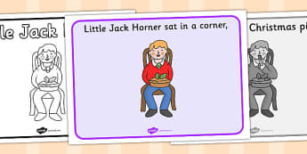 Little Jack Horner Sequencing - Little Jack Horner, sequencing, nursery rhyme, rhyme, rhyming, nursery rhyme story, nursery rhymes, Little Jack Horner resources