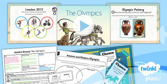 PlanIt - History KS2 - Ancient Greece Lesson 3: Ancient Greek Olympics Lesson Pack