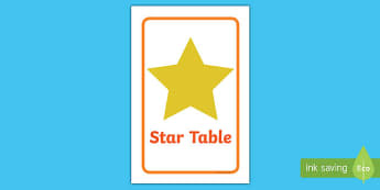 IKEA Tolsby Star Table Prompt Frame