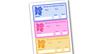 The Olympics Boxing Event Tickets - Boxing, Olympics, Olympic Games, sports, Olympic, London, 2012, event, ticket, tickets, entry, stadium, activity, Olympic torch, events, flag, countries, medal, Olympic Rings, mascots, flame, compete