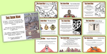 The Iron Man Challenge Cards - stories, story books, challenges