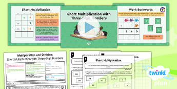 PlanIt Y4 Multiplication and Division Lesson Pack - Y4 Multiplication and Division Planit Maths, multiply, groups of, lots of, product, times, factor, i