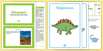 Dinosaurs Discovery Sack - EYFS, Early Years, KS1, Key Stage 1, prehistoric, mesozoic, living things, in the past, fossils