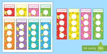 Attendance Bookmarks - Young People & Families Case File Recording, referral, chronology, contents page,buddy system, safeg