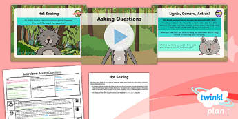 PlanIt Y1 Traditional Tales: Little Red Riding Hood Lesson Pack Interviews (2)