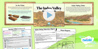 PlanIt History UKS2 The Indus Valley Lesson 5 Building Life Pack