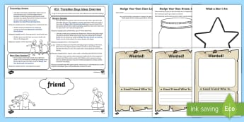 KS1 Transition Days Themed Activity Pack - New Class, Moving Classes, EYFS to KS1, Year 1 to Year 2, Y1 to Y2, Classroom Display