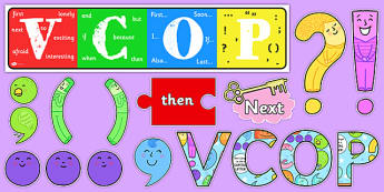 VCOP Display Pack - VCOP, Display, Pack, Sack, Grammar