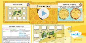 PlanIt Y4 Fractions Measure and Money Problem Solving (4) Lesson Pack - Fraction, fraction of a number, fraction of an amount, fraction bar, pounds, pence, problem solving,