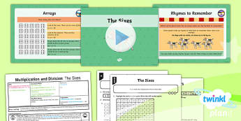 PlanIt Y4 Multiplication and Division Lesson Pack Multiplication and Division Facts (1)