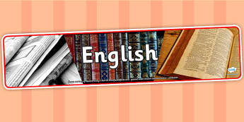 English Photo Display Banner - english, photo display banner, display banner, display, banner, photo banner, header, display header, photo header, photo