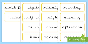 time vocabulary - KS2 Time Primary Resources, Time, Passing Time, Time Conversion