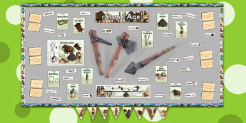 Ready Made Stone Age Display Pack - ready made, stone age, pack