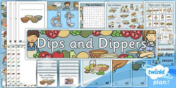 PlanIt - D&T KS1 - Dips and Dippers Unit Additional Resources
