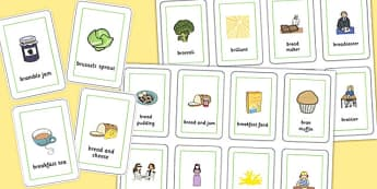 Three Syllable 'BR' Playing Cards - br sound, syllable, playing cards