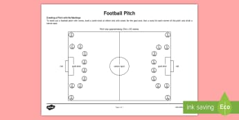 KS1 Football Pitch Adult Guidance - KS1, Football, Key Stage 1, Year 1, Y1, Year 2, Y2, Pitch, Tournament, Sport, Exercise