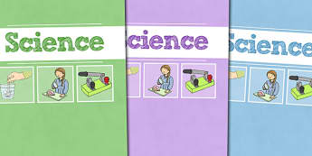 A4 Science Divider Covers - A4 Science Divider Covers, Science Divider Covers, Divider Covers, Science