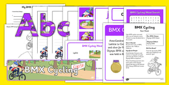 Rio 2016 Olympics BMX Cycling Resource Pack - rio 2016, rio olympics, 2016 olympics, bmx cycling, resource pack