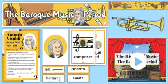 The History of Baroque Music Resource Pack - History Club, Baroque Music, Ideas, Support, Care Homes, Elderly Care, Activity Coordinators, Life L