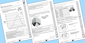 Year 6 Maths Assessment: Statistics Term 1 - assessment, statistics