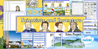 PlanIt - Science Year 2 - Scientists and Inventors Additional Resources - planit, science, year 2, scientists and inventors, additional resources