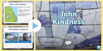 John Kindness PowerPoint - Northern Ireland, Artists, John Kindness, art, sculpture, Belfast, big fish, new gasworks, belfast,